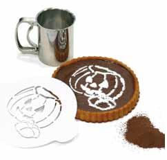 ... dortů | Silikomart šablona TRIS | Silikonové formy SILIKOMART